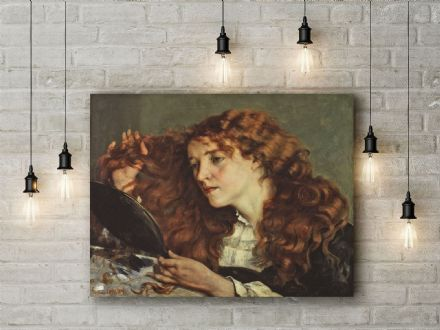 Gustave Courbet: Jo, the Beautiful Irish Girl/Woman. Fine Art Canvas.